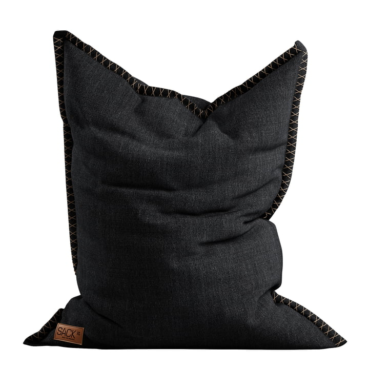 The SQUARE it Cobana Outdoor Beanbag from SACK it, black