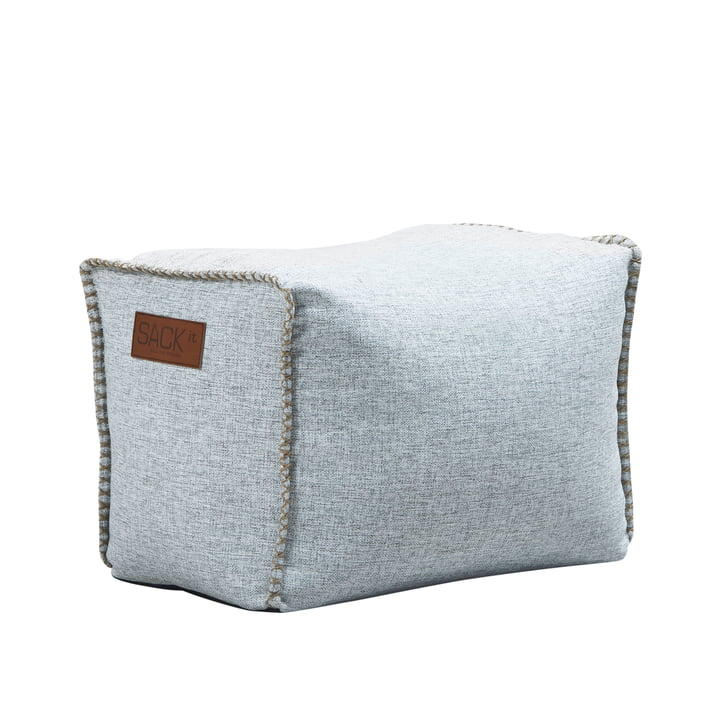 The RETRO it Cobana Square Pouf from SACK it, white