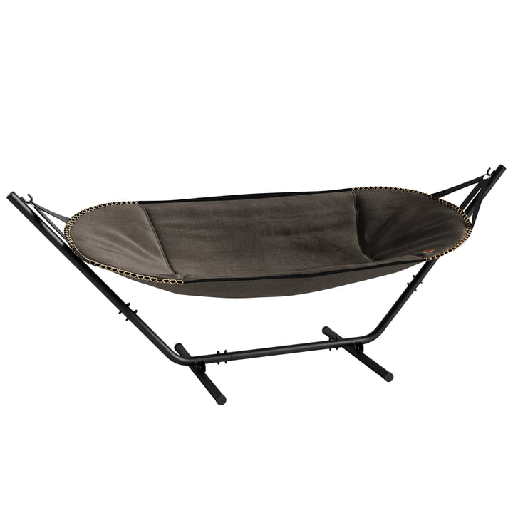 The CHILL it Cobana hammock from SACK it, frame aluminium, brown
