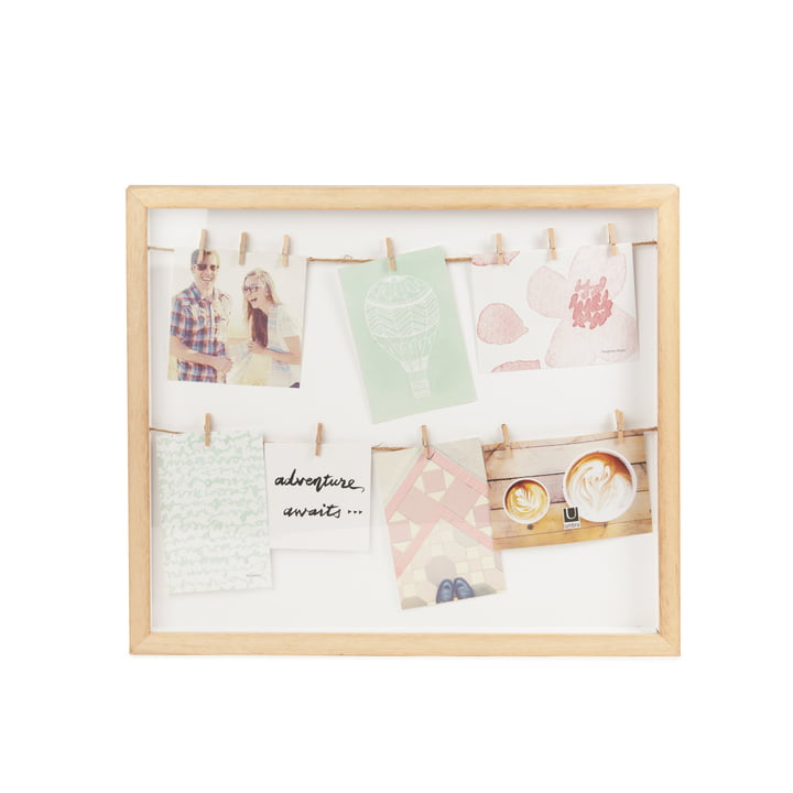 Clothesline Picture frame from Umbra in nature