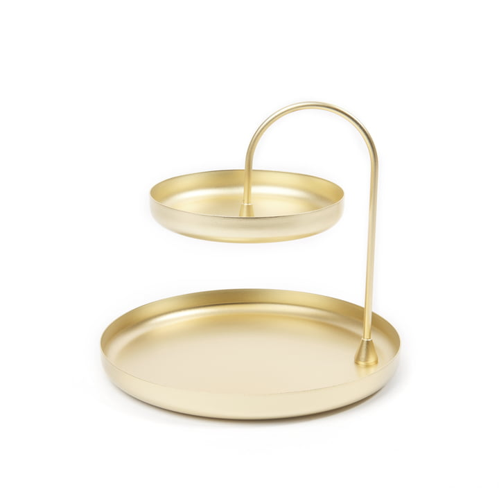 Poise Tray from Umbra in brass