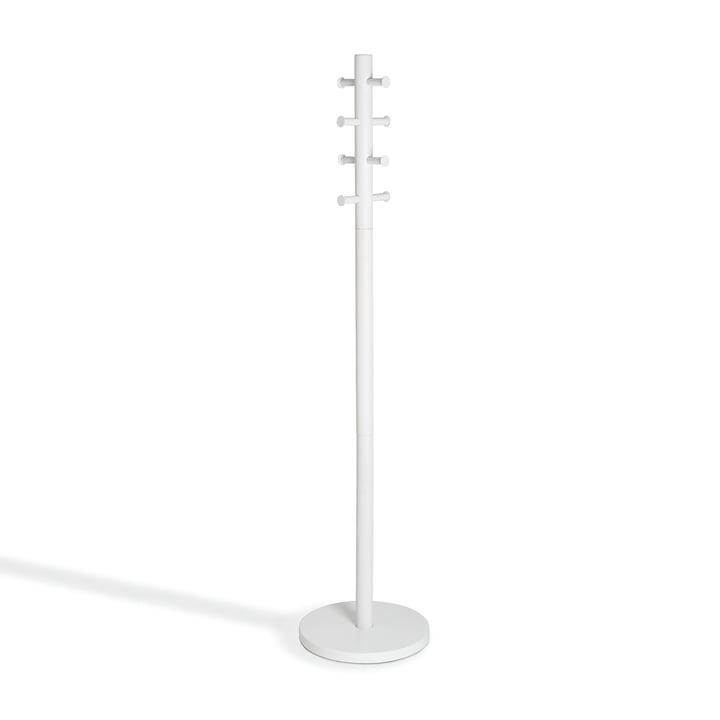 Pillar Coat rack from Umbra in white
