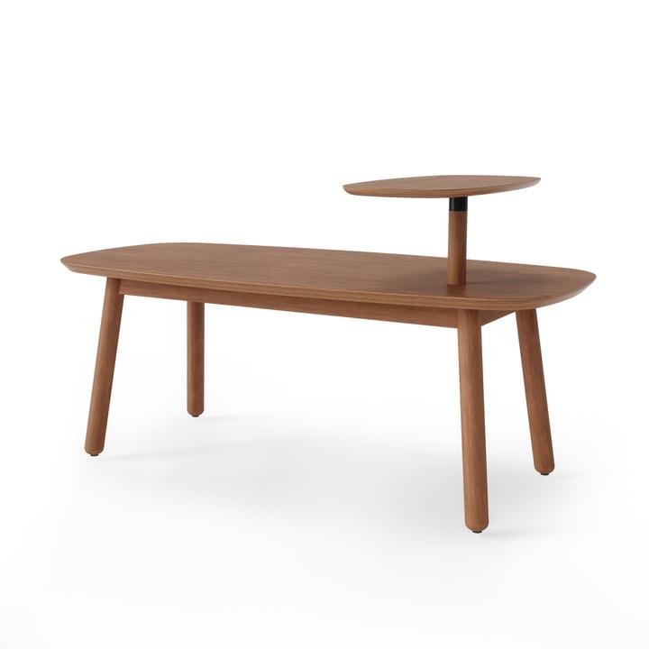 Swivo Coffee table from Umbra 120 x 56 cm in walnut