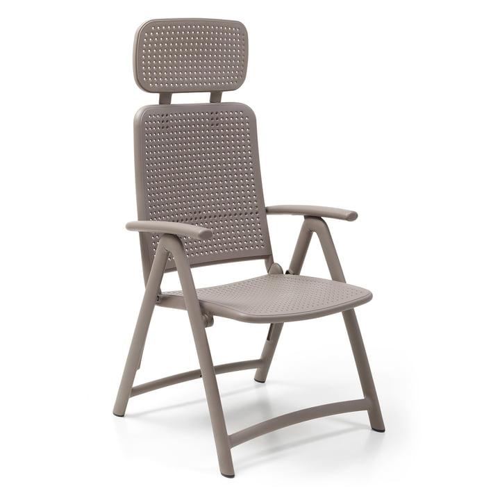 The Acquamarina Relax garden chair from Nardi , tortora