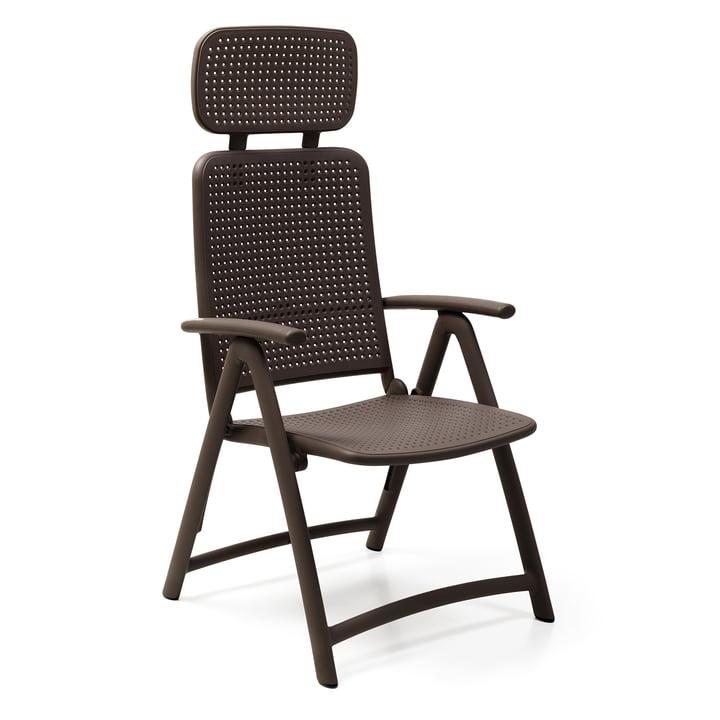 The Acquamarina Relax garden chair from Nardi , caffè