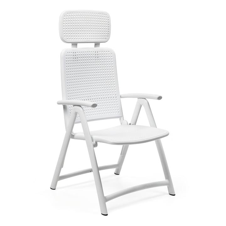 The Acquamarina Relax garden chair from Nardi , bianco