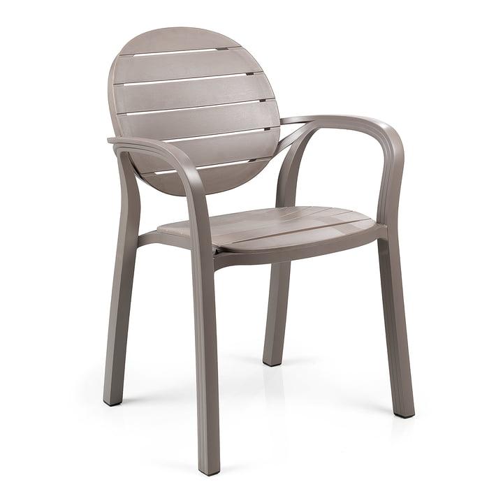 The Palma armchair from Nardi , tortora / tortora