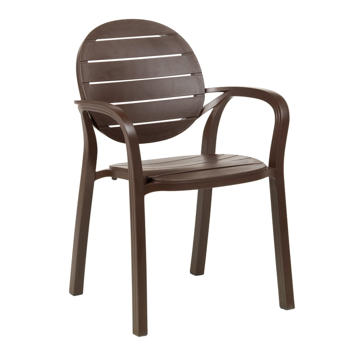 The Palma armchair from Nardi , caffè / caffè