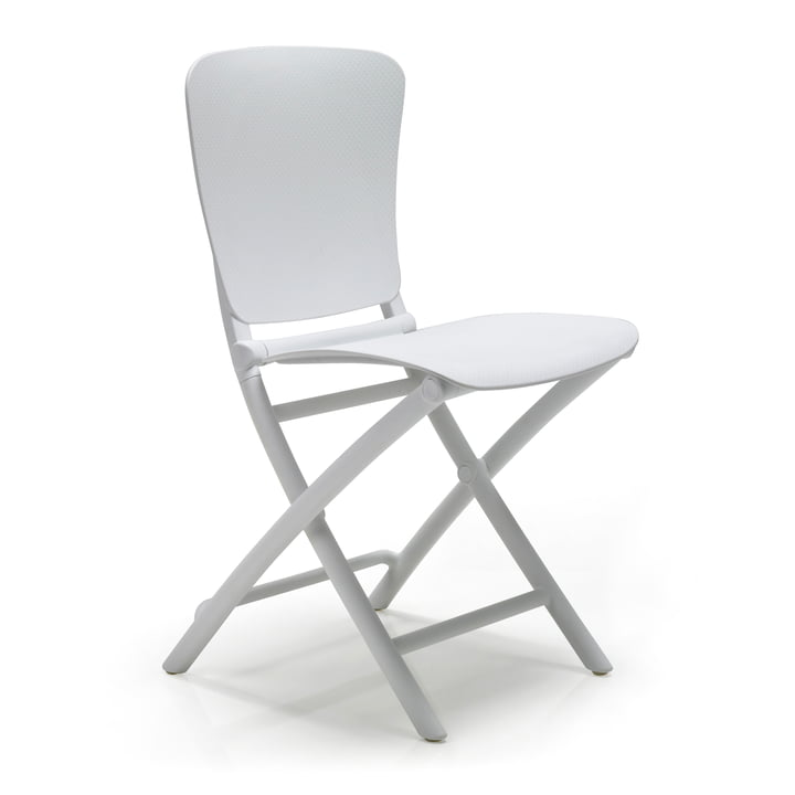 The Zac Classic folding chair from Nardi , bianco