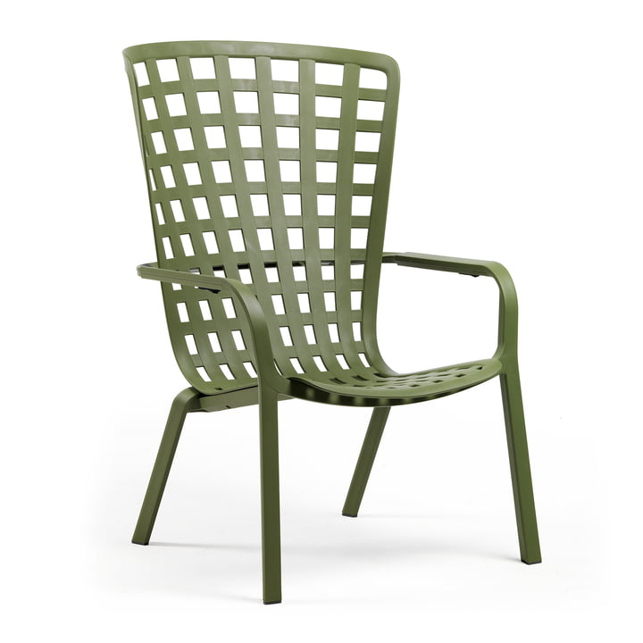 The Folio adjustable outdoor chair from Nardi , agave