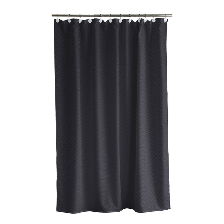 Canted Shower curtain from Södahl in 180 x 200 cm, ash