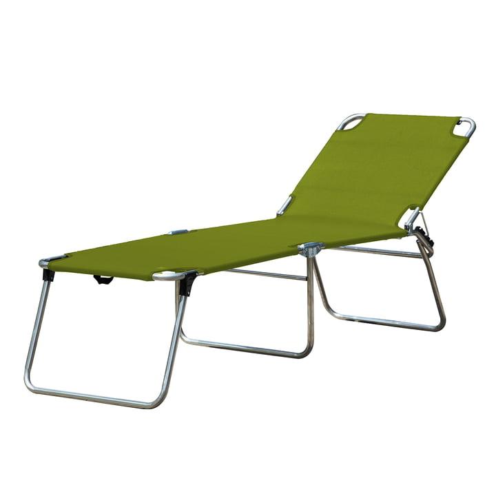 The Amigo 40 + tripod lounger from Fiam , pistachio