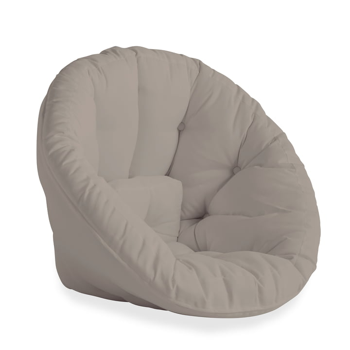 The Nido OUT Futon armchair from Karup Design , Beige