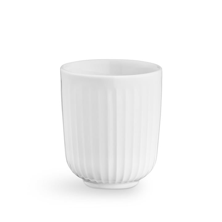 Hammershøi thermo mug 20 cl from Kähler Design in white