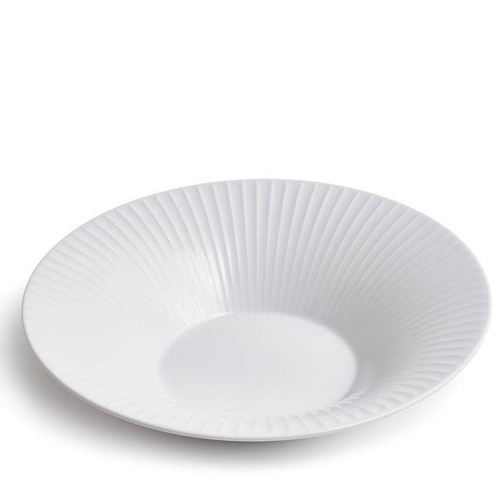 Hammershøi Plate Ø 26 cm from Kähler Design in white