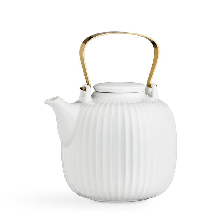 Hammershøi Teapot 1,2 l from Kähler Design in white