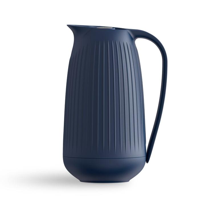 Hammershøi Vacuum jug 1 l from Kähler Design in indigo