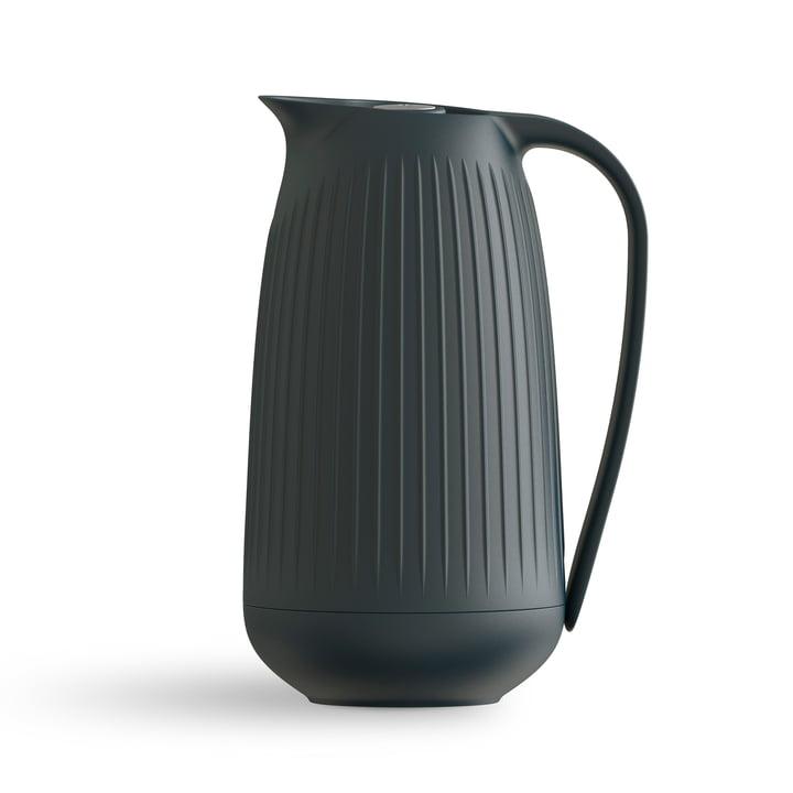 Hammershøi Vacuum jug 1 l from Kähler Design in anthracite