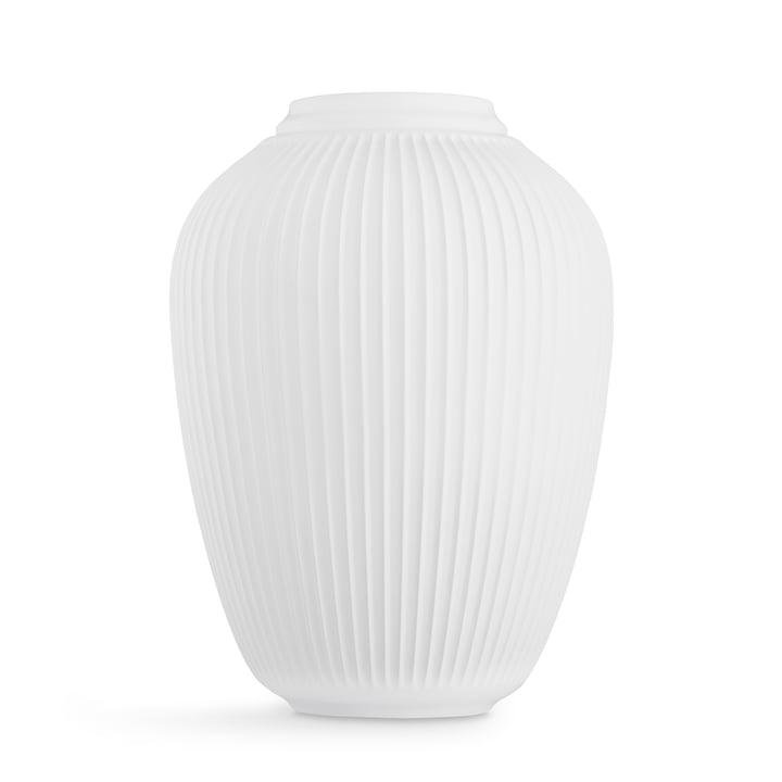 Hammershøi Floor vase H 50 cm from Kähler Design in white