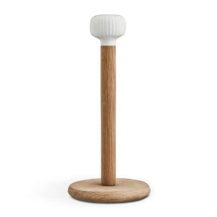 Hammershøi Kitchen roll holder from Kähler Design in oak / white