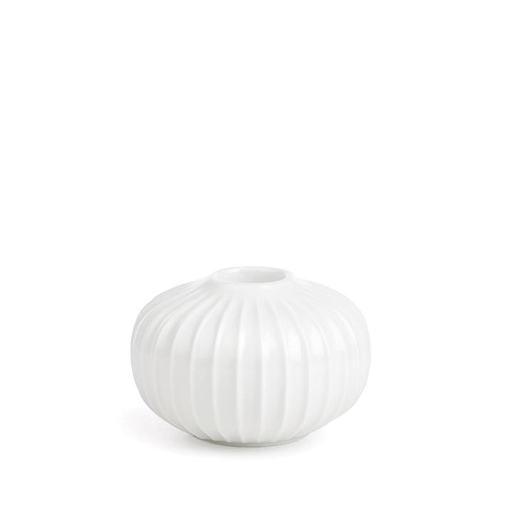 Hammershøi Candlestick Ø 8,5 x H 4,5 cm from Kähler Design in white