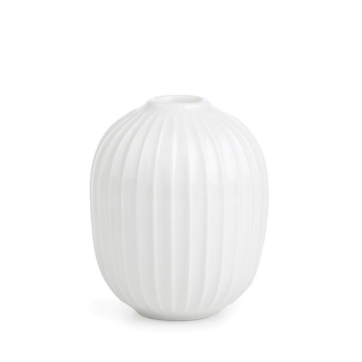 Hammershøi Candlestick Ø 8,5 x H 10 cm from Kähler Design in white