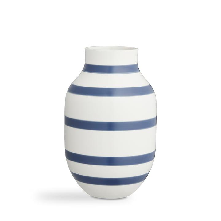 Omaggio Vase H 31 cm from Kähler Design in blue