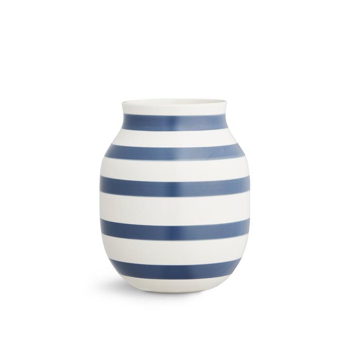 Omaggio Vase H 20 cm from Kähler Design in blue