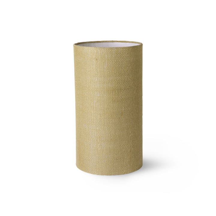 HKLiving - Table lamp shade jute, Ø 22 cm, jade green