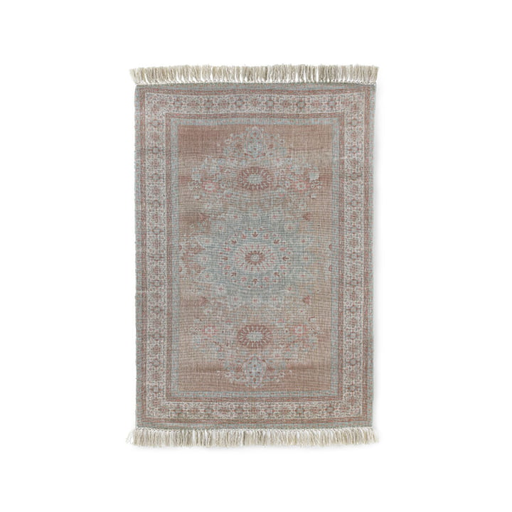The Printed Indoor / Outdoor carpet from HKliving , 120 x 180 cm, grey / red