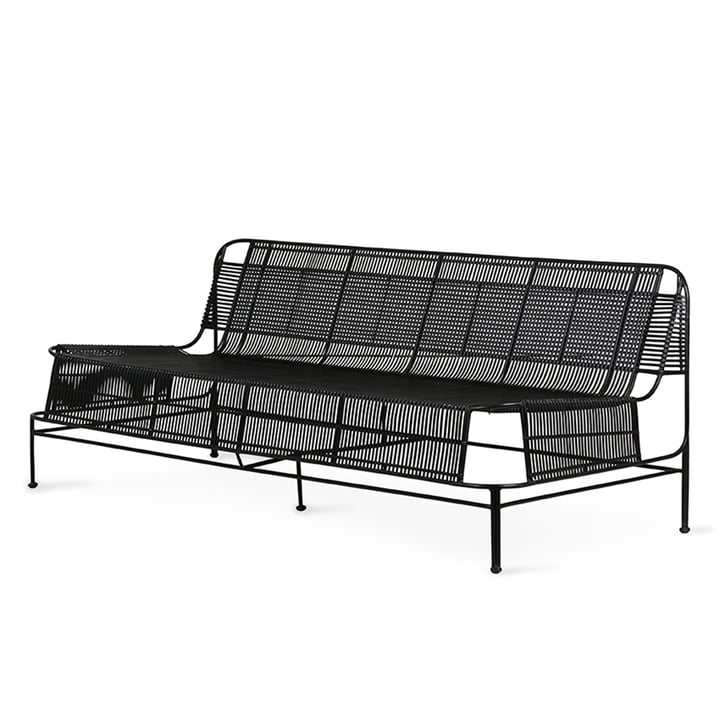 The Outdoor Lounge Sofa from HKliving , black