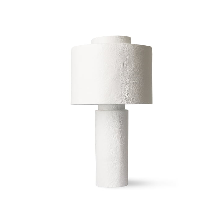 The Gesso table lamp from HKliving , matt white