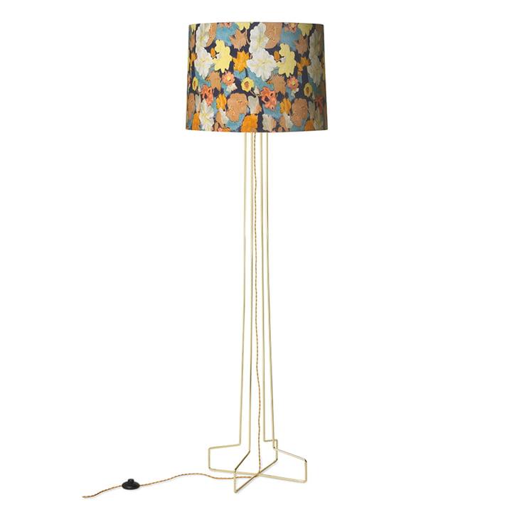The DORIS Vintage floor lamp from HKliving , floral print