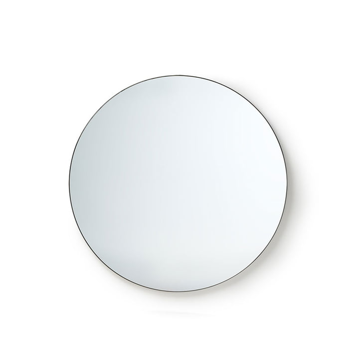 The Round Mirror from HKliving , Ø 80 cm, black