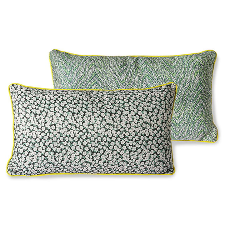 The DORIS Vintage cushion from HKliving , 35 x 60 cm, green