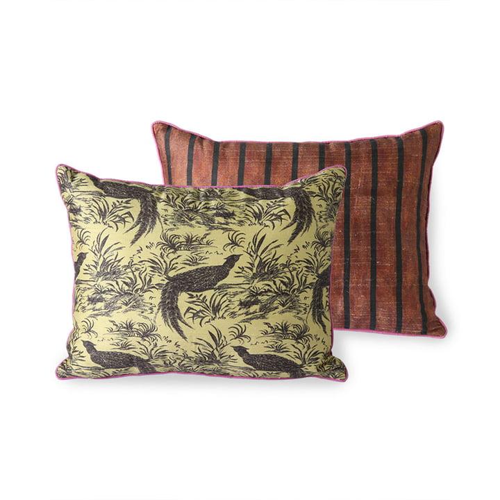 The DORIS Vintage cushion from HKliving , 30 x 40 cm, jungle