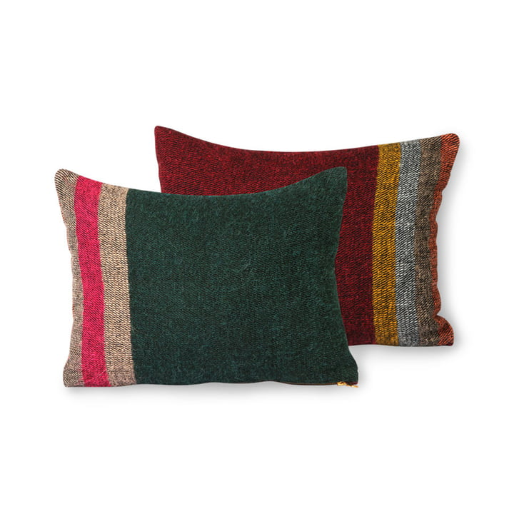 The DORIS Vintage cushion from HKliving , 30 x 40 cm, colourful