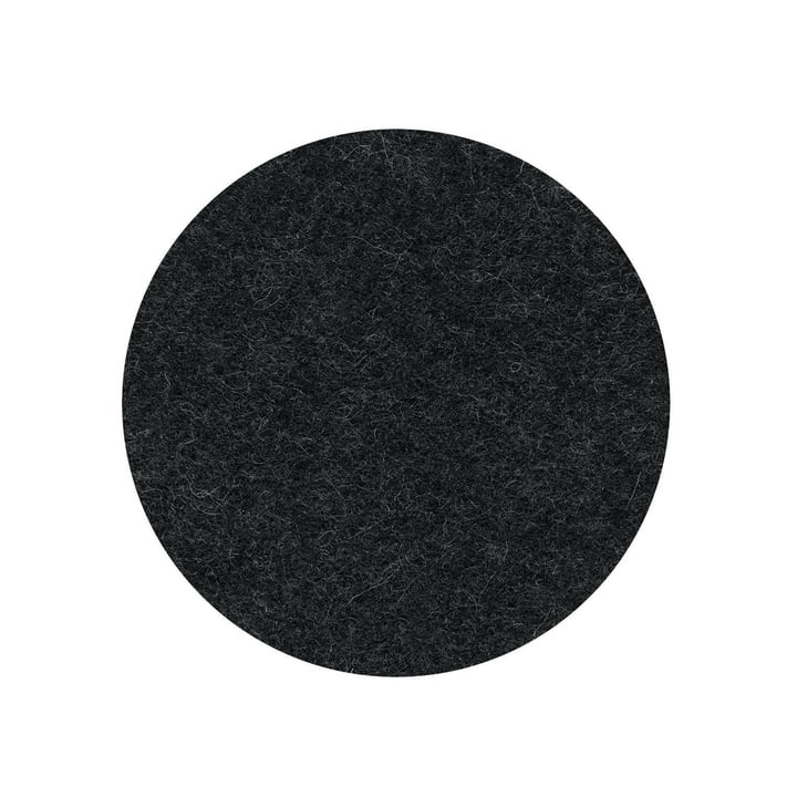 The felt pad for the Occo bar stool from Wilkhahn , graphite