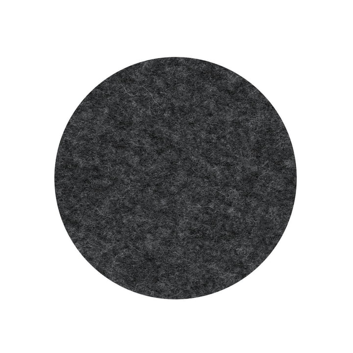 The felt cover for the Occo chair from Wilkhahn , anthracite