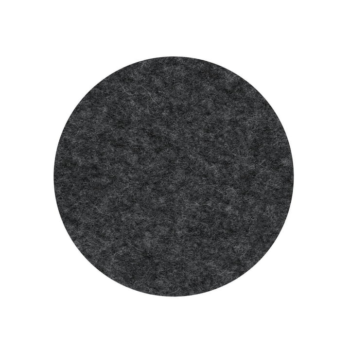 The felt cover for the seat stand from Wilkhahn , anthracite