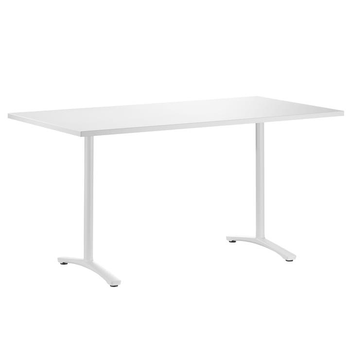 The Aline desk from Wilkhahn , white