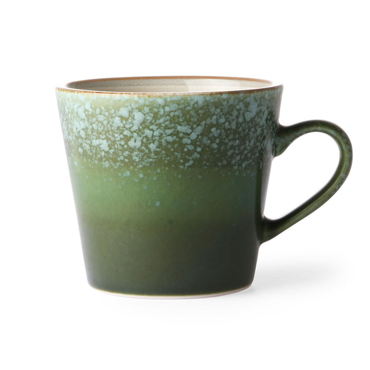 The 70's cappuccino cup from HKliving , grass