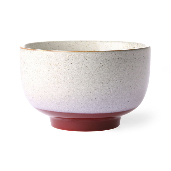 The 70's bowl noodle from HKliving , Ø 13,5 cm, frost