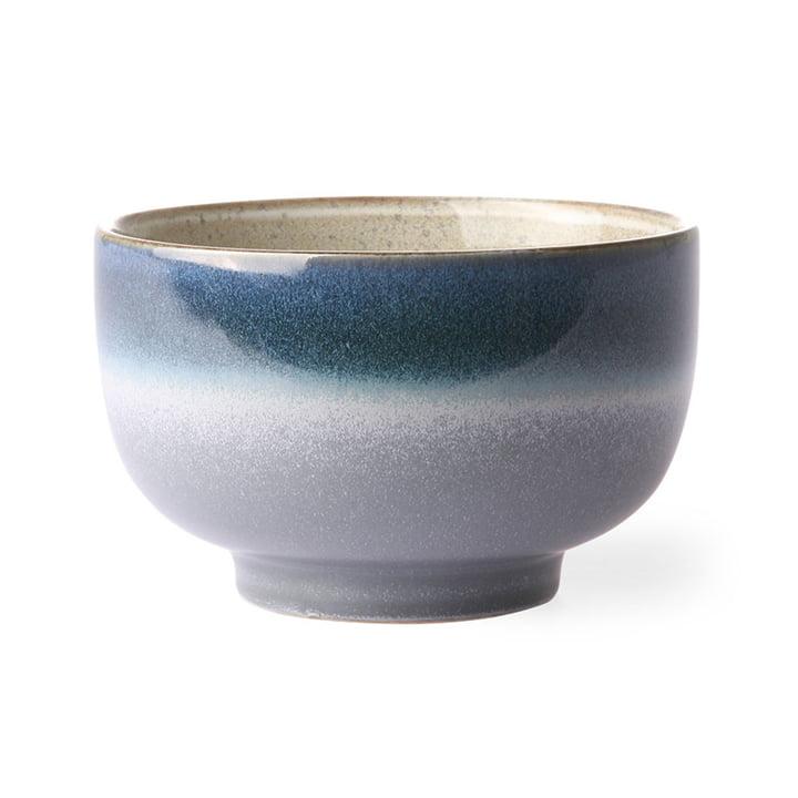 The 70's bowl noodle from HKliving , Ø 13,5 cm, ocean