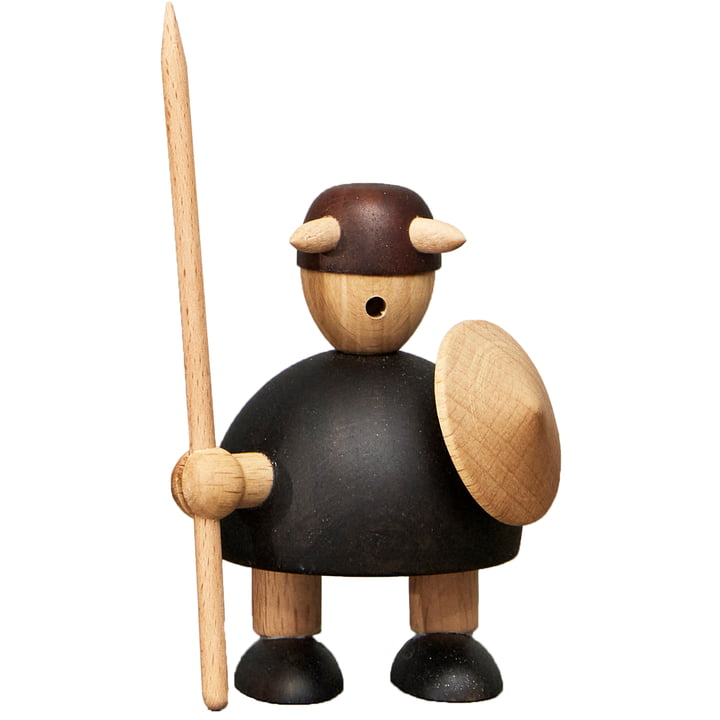 Small The Vikings of Denmark wooden figure from Andersen Furniture