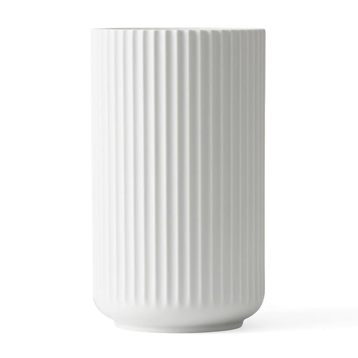 Lyngbyvase from Lyngby Porcelæn in white, H 31 cm
