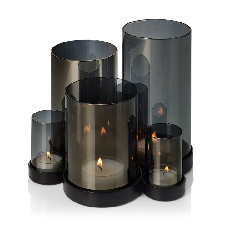 The Lichtermeer Wind light from Philippi, black / transparent