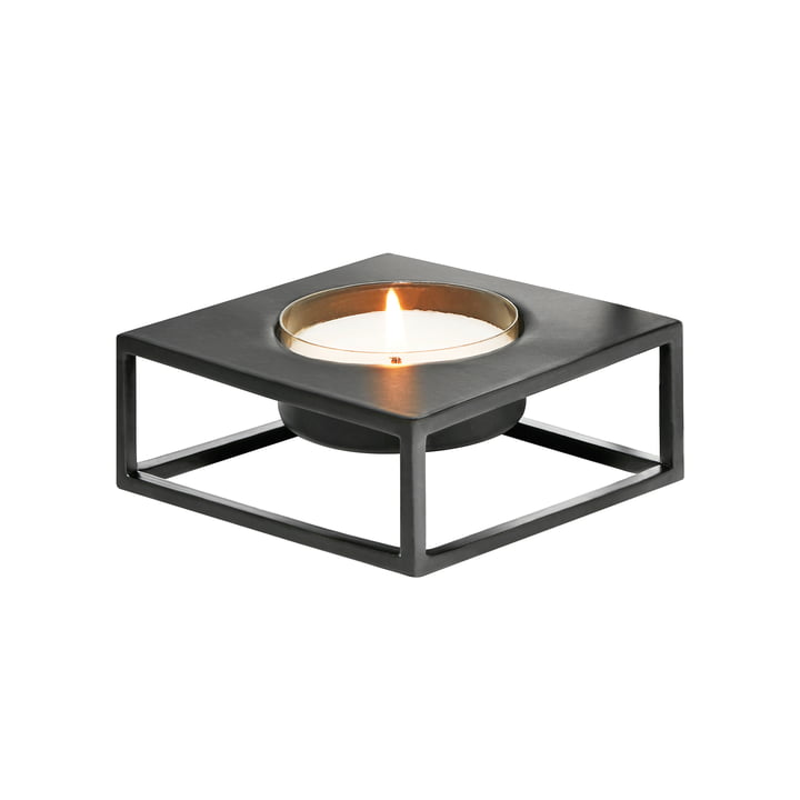 Solero Tealight holder S for Maxi -tealights from Philippi in black
