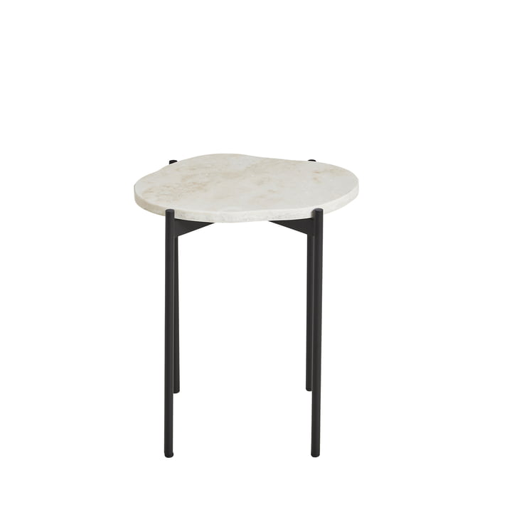 La Terra Side table small from Woud in ivory