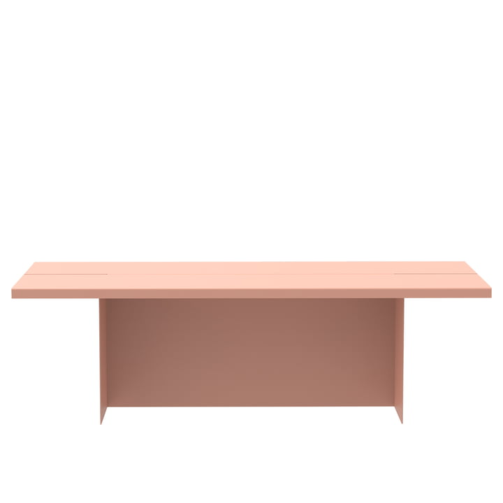 Zebe Bench from Objekte unserer Tage in apricosa